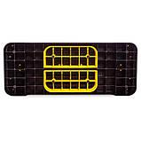 Степ-платформа FI-1573 (PP, р-р 68Lx27Wx10-15Hсм, черный), фото 3