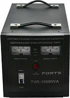 ⭐Стабилизатор напряжения FORTE TVR-10000VA  релейного типа, мощность 10000 ВА, точность 8%,