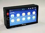 Магнітола Pioneer 8702 2din Android GPS + WiFi + 4Ядра, фото 4