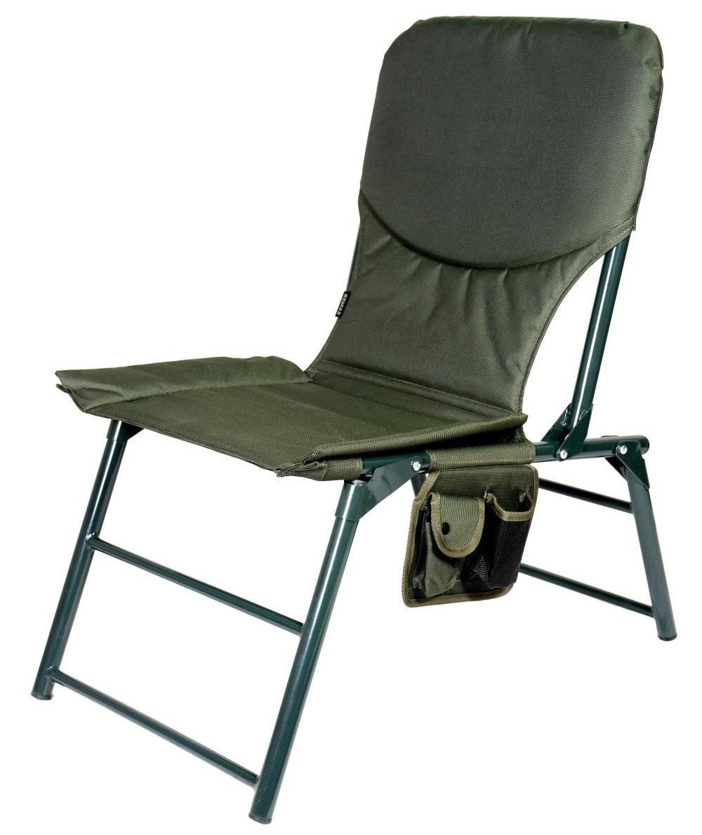 Кресло складное с карманом Ranger Титан в чехле для отдыха пикника рыбалки