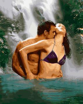 Картины по номерам 40×50 см. Mariposa Курортный роман (RQ-2217)