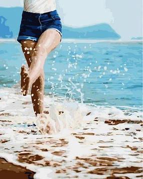 Картины по номерам 40×50 см. Mariposa Теплый берег (RQ-2155)