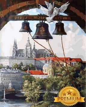 Картины по номерам 40×50 см. Babylon Premium (цветной холст + лак) Вечный город  В. Абат-Черкасов (RNB-865)