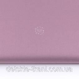 Однотонна польська бязь кольору сухої троянди, №3412а