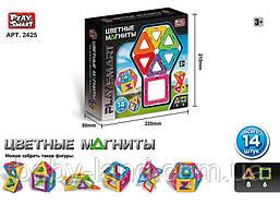 Магнитный конструктор PlaySmart арт. 2425