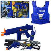 Ігровий набір поліцейського з бронежилетом арт. 33520, фото 1