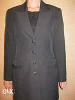 Удлиненный женский пиджак б\у в хорошем состоянии 44-46 размер в Черкассах, фото 1