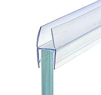 Уплотнитель соединительный для стекла душевой кабины ( ФС03С ) Н образный