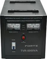 ⭐ Стабилизатор напряжения Forte TVR-5000VA релейный, однофазный