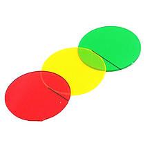 Светофильтры для фонаря Q2800, 50 мм, 3 цвета