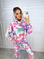Жіночий яскравий спортивний костюм двунітка, фото 1
