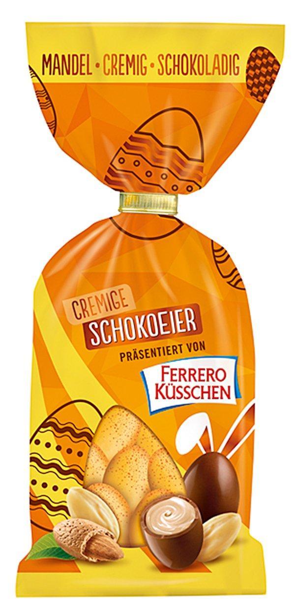 Шоколадні яйця Ferrero Kusschen Cremig Mandel 19s 100 g