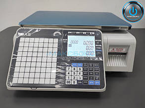 Весы с печатью этикеток – CL3500-B (с модулем Wi-Fi)