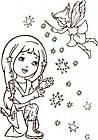 Большая кн. раскрасок (новая) : Для девочек (у) 670014, фото 4