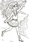 Большая кн. раскрасок (новая) : Для девочек (у) 670014, фото 6