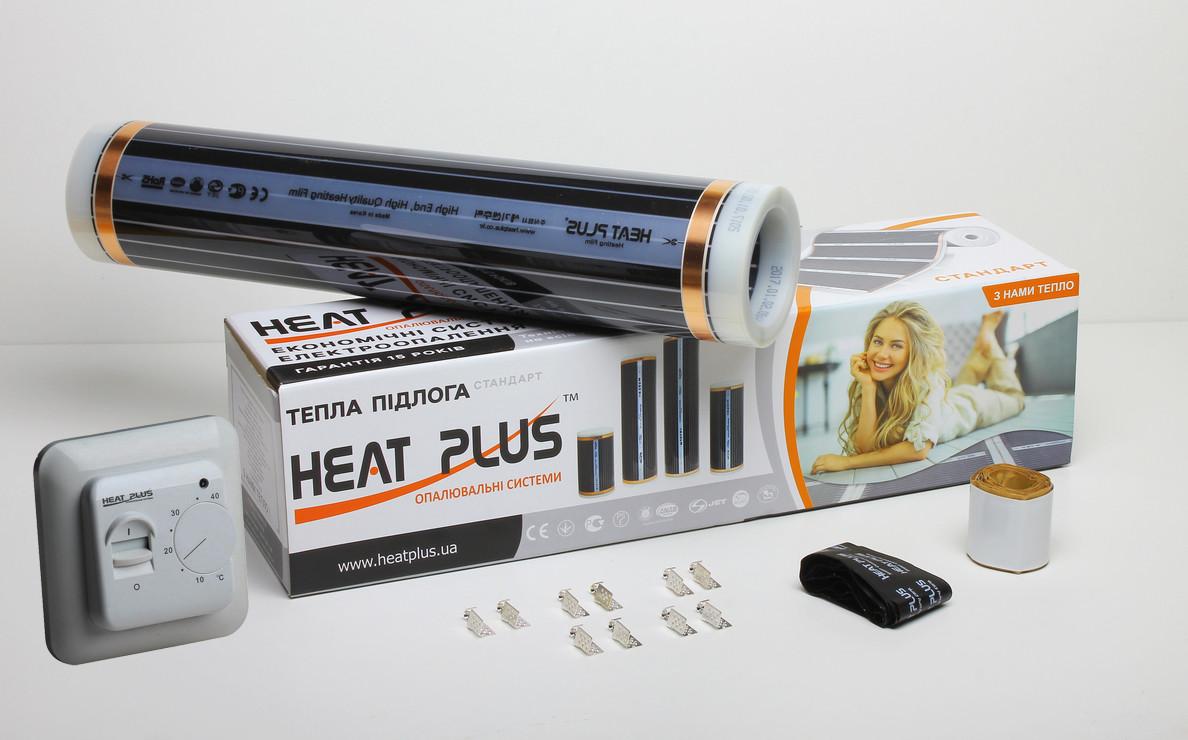 Комплект Теплої підлоги Heat Plus Standart 5м2 + Терморегулятор M5.16