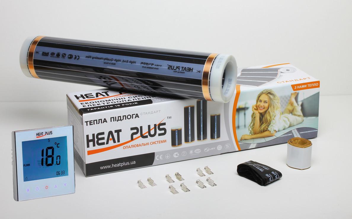 Комплект Теплої підлоги Heat Plus Standart 7м2 + Терморегулятор Iteo 4