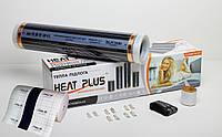 Комплект Теплої підлоги Heat Plus Standart 1м2 + Теплоізолююча підкладка з заземленням 1м2 (E-pex, 4мм)