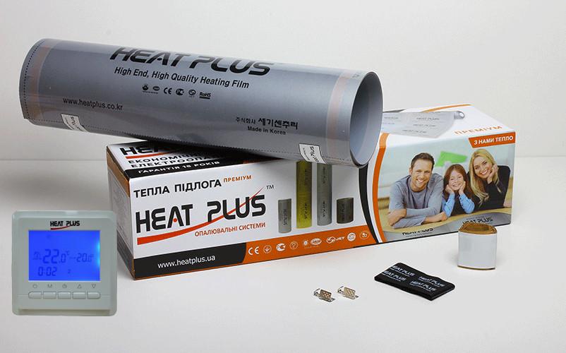Комплект Теплої підлоги Heat Plus Premium 10м2 + Терморегулятор BHT306