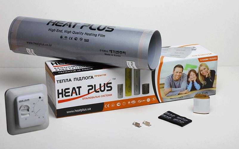 Комплект Теплої підлоги Heat Plus Premium 10м2 + Терморегулятор M5.16