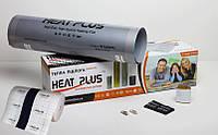 Комплект Теплого пола Heat Plus PREMIUM 2м2 + Теплоизолирующая подложка с заземлением 2м2 (E-pex, 4мм)