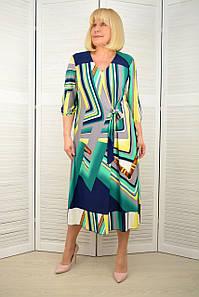 Платье масло зеленое - Модель 3.231.1