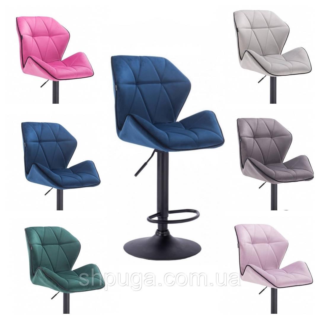 Крісло -стілець визажный , барний код 212 велюр колір на вибір з каталогу .