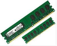 Оперативна пам'ять 2 Гб DDR2 800 для INTEL і AMD широкопрофільна PC2-6400 універсальна – KVR800D2N6/2G, фото 1