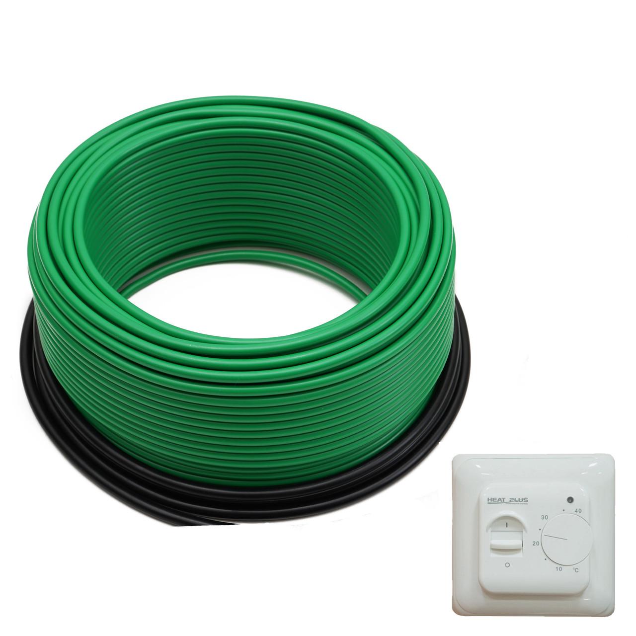 Комплект Нагревательный кабель ThermoGreen CT20-200W 15м2 + Терморегулятор M5.16