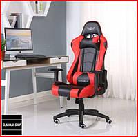 Кресло геймерское Nordhold Ymir (красное) игровое компьютерное кресло профессиональное с подголовником