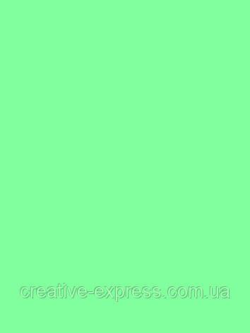Папір для дизайну Tintedpaper В2 (50*70см), №25 зелено-м'ясного ятний, 130г/м, без текстури, Folia, фото 2