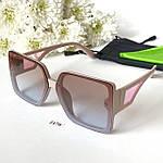 Солнцезащитные очки в стиле оверсайз, фото 5