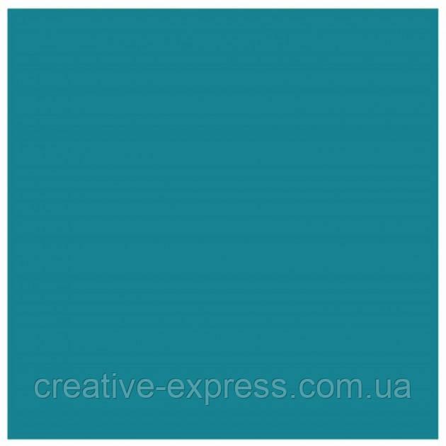 Папір для дизайну Tintedpaper В2 (50*70см), №38 бірюзовий, 130г/м, без текстури, Folia