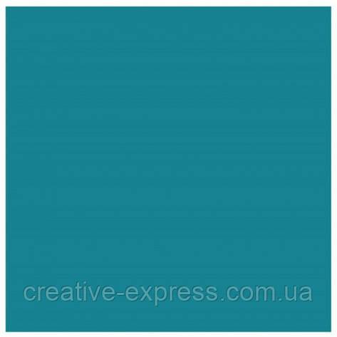 Папір для дизайну Tintedpaper В2 (50*70см), №38 бірюзовий, 130г/м, без текстури, Folia, фото 2