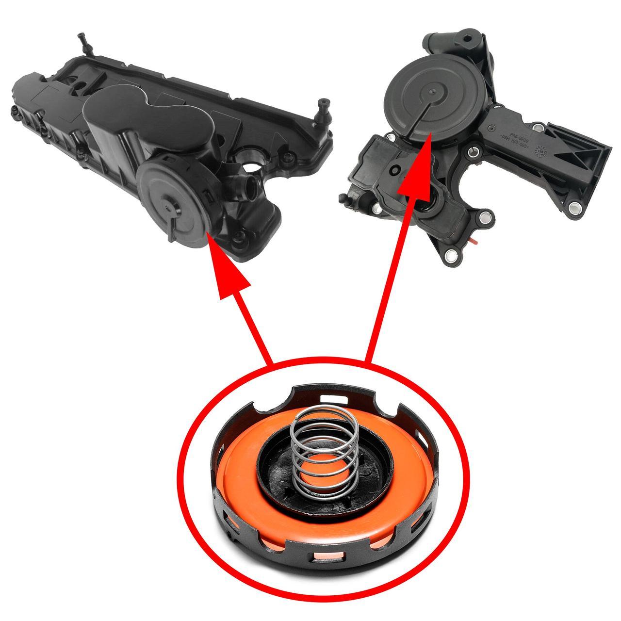 Клапан вентиляції картерних газів для VAG 1.8 / 2.0 / 2.5 TSI TFSI 06H103495
