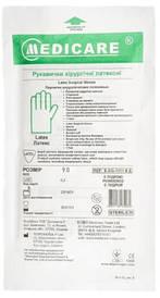 Перчатки хирургические латексные стерильные текстурированные БЕЗ пудры (ИГАР,MEDICARE)
