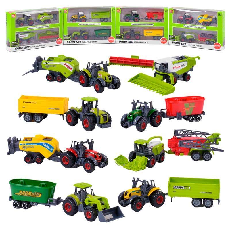Трактор игрушечный SQ 82004-2