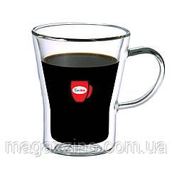 """Набір скляних чашок з подвійними стінками, """"ConBrio"""", 2шт., 280мл."""