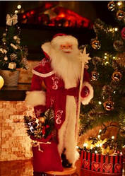Декоративный дед Мороз большой 72 см