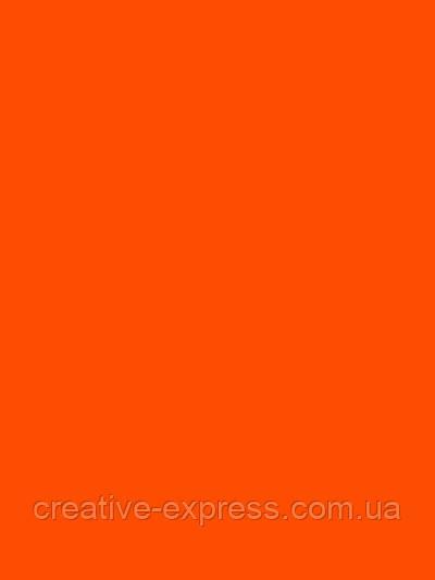 Папір для дизайну Fotokarton B2 (50*70см) №41 Світло-оранжевий, 300г/м2, Folia