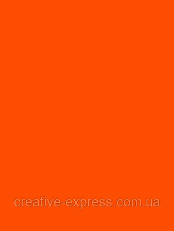 Папір для дизайну Fotokarton B2 (50*70см) №41 Світло-оранжевий, 300г/м2, Folia, фото 2