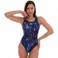 Купальник для плавания слитный женский MADWAVE FlEX E3 M015020 размер S-M (RUS 44-46) (полиамид, эластан,