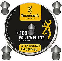 Пули Umarex Browning Pointed Pellets 0,56гр. кал.4.5 мм, 500шт.
