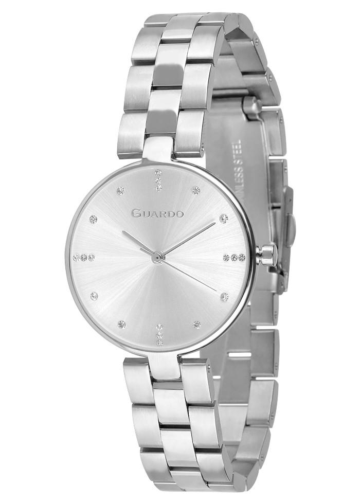 Женские наручные часы Guardo 012666-1 (m.SS)
