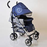 """Алюминиевая прогулочная детская коляска """"SunnyLove""""-SH629APB Blue"""