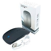 Мышь компьютерная беспроводная Apple на аккумуляторах Black