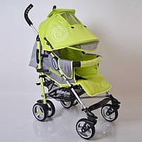 """Алюминиевая прогулочная детская коляска """"SunnyLove""""-SH629APB Green"""