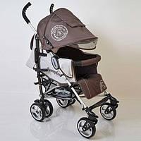 "Алюминиевая прогулочная детская коляска ""SunnyLove""-SH629APB Brown"