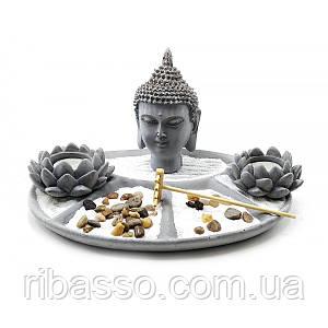 """Сад каменів """"Будда"""" 27,5х21,5х17 см 32385"""