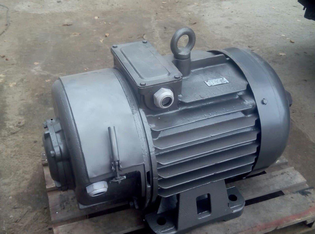 MTF412/8 крановий електродвигун 22 кВт 720об/хв